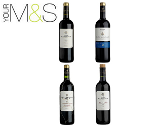 M&S WIne Offer