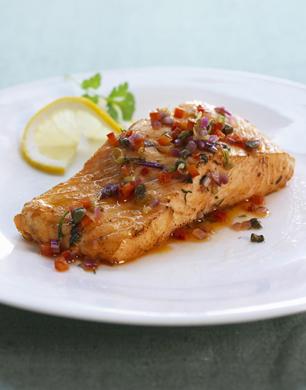 MasterChef Asian Style Salmon