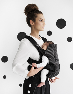Baby Carrier We - Dots, Cotton