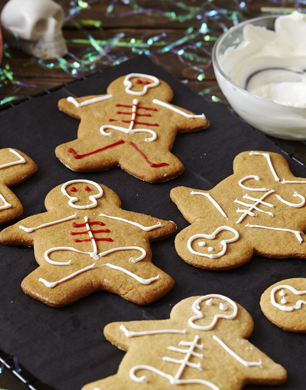 Ginger Bread Skeletons