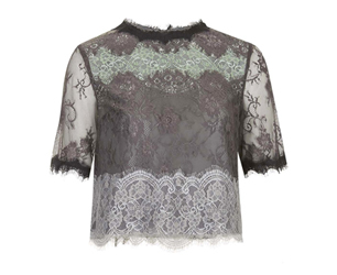 Lace Top.Topshop