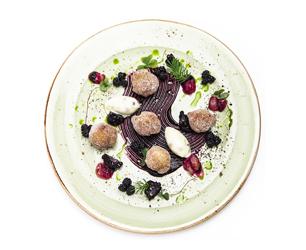 Paramount foraging menu dessert