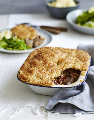 Bacon and Liver Pie