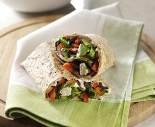 Chicken, Watercress and Mozzarella Wrap