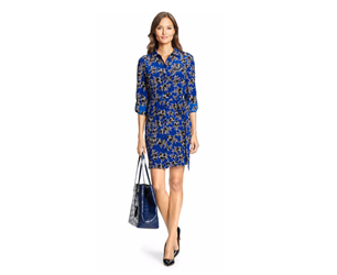 Blue shirt dress copy