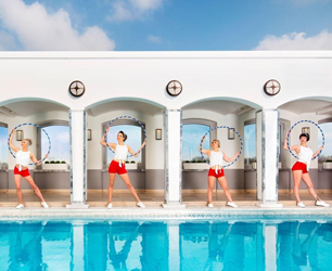 Rooftop Hula Hooping Classes Launching at The Berkeley -- Press Release
