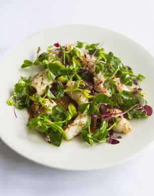 Grilled squid with garlic2