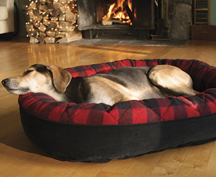 Orvis-Buffalo-Check-Dog-Bed