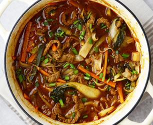 beef galbi & gochujang stew2-4