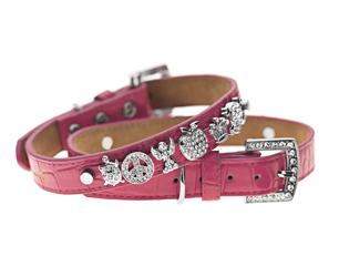 Voss-By-Voss-Dog-Collar-Pink