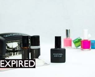 SensatioNail Polish To Gel Kit copy