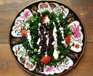 Feat-Veggie Desserts Lentil Salad