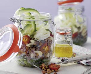 Summer veg Lentil salad A