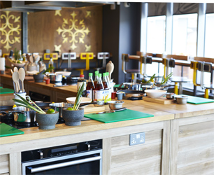 Jamie Oliver Cookery School Launch