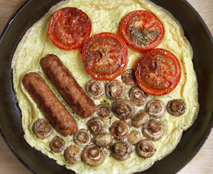 English Breakfast Frittata