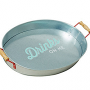 Feat-Jamie Oliver Steel 'Drinks on Me' serving tray copy