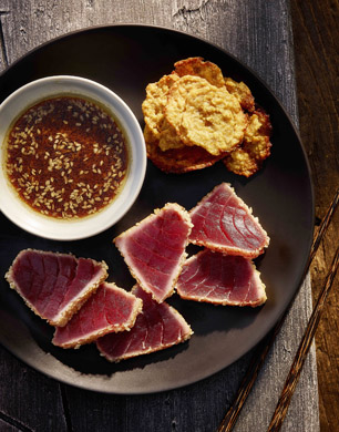 Fink's Salt and Sweet's Seared Tuna Tataki with Ponzu Dressing ...