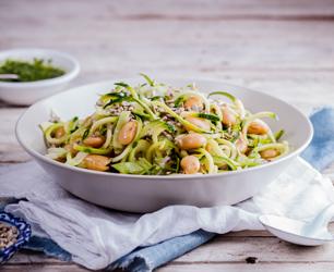 Butterbean & Courgetti salad (1)