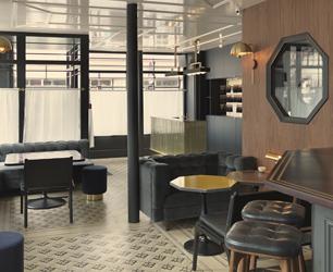 Grand Pigalle Hotel designed by Chzon Design, Paris, France. Photo Credit : Kristen Pelou