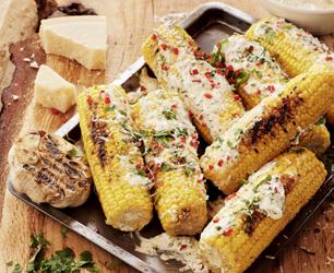 Latin Grilled Corn