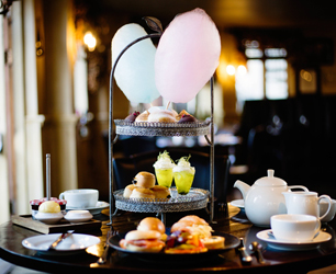 Afternoon tea Cheltenham HDV on September 8th 2016.Please byline Ki Price/ Emulsion London