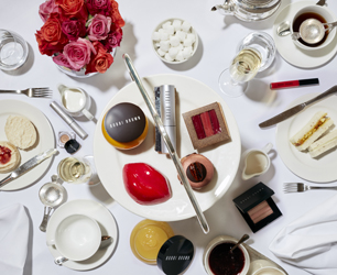 Balthazar And Bobbi Brown Afternoon Tea - Cakes and Make up